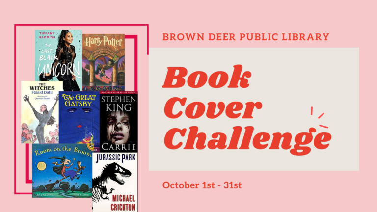 Brown Deer Book Cover Challenge - October 1 through 31